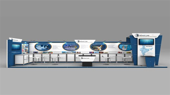 Custom Exhibition Stand Zones : Cr creeya sqm two side open exhibition stall design