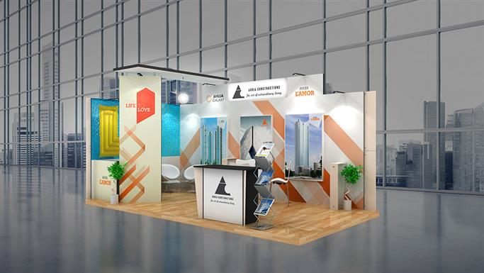 Exhibition Stall Panels : Mtr exhibition stall design and sqm