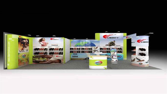 6m x 3m exhibition stands