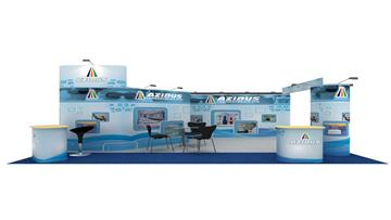 6mx4m Exhibition Stand Design