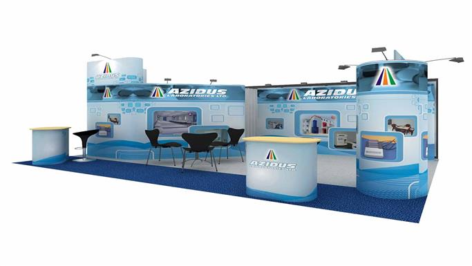 6mx4m Exhibition Stand
