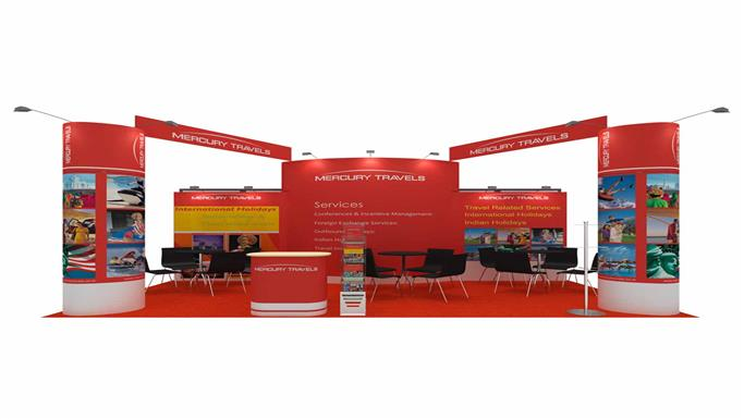 3m x 6m Exhibition Stands