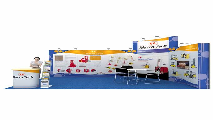 Exhibition Stall Case Study : Ep m exhibition stall design