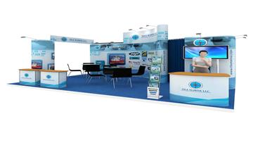 24sqm Exhibition Stall Design