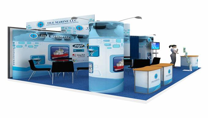 24sqm Exhibition Stall