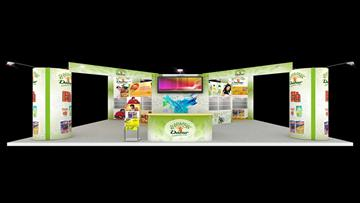 6mx5m Exhibition Stall Design