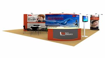 36sqm exhibition stand design