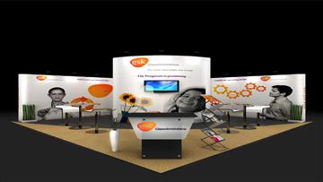 6x6 Exhibition stand design