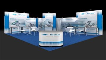 6m x 5m Exhibition Stall Design Ideas