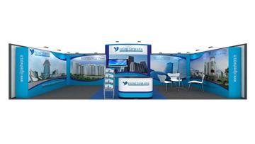 3m x 6m exhibition stall