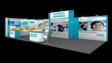 3m x 6m exhibition stand