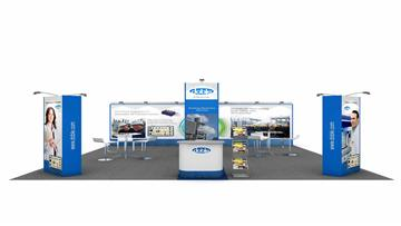 6m x 6m Exhibition Stand Design