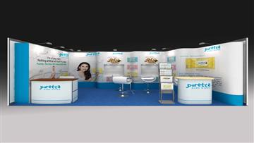 5m x 3m Exhibition Stall Design