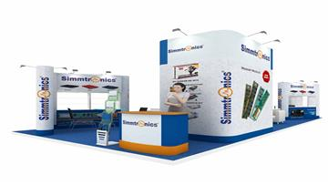 10m x 4.5m Exhibition Stall Design