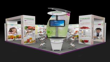 6x5 Exhibition Stand Design