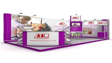 3x6 exhibition stand design