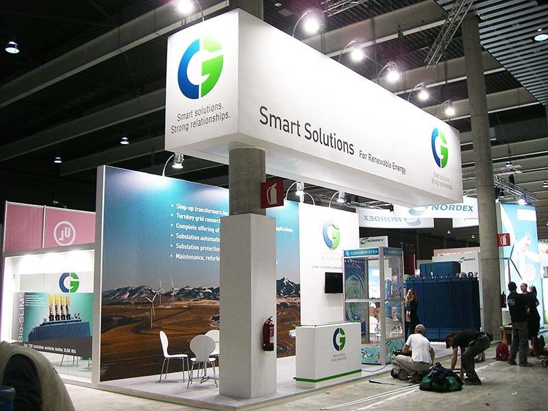 Custom Exhibition Stand Job : Cg ewea