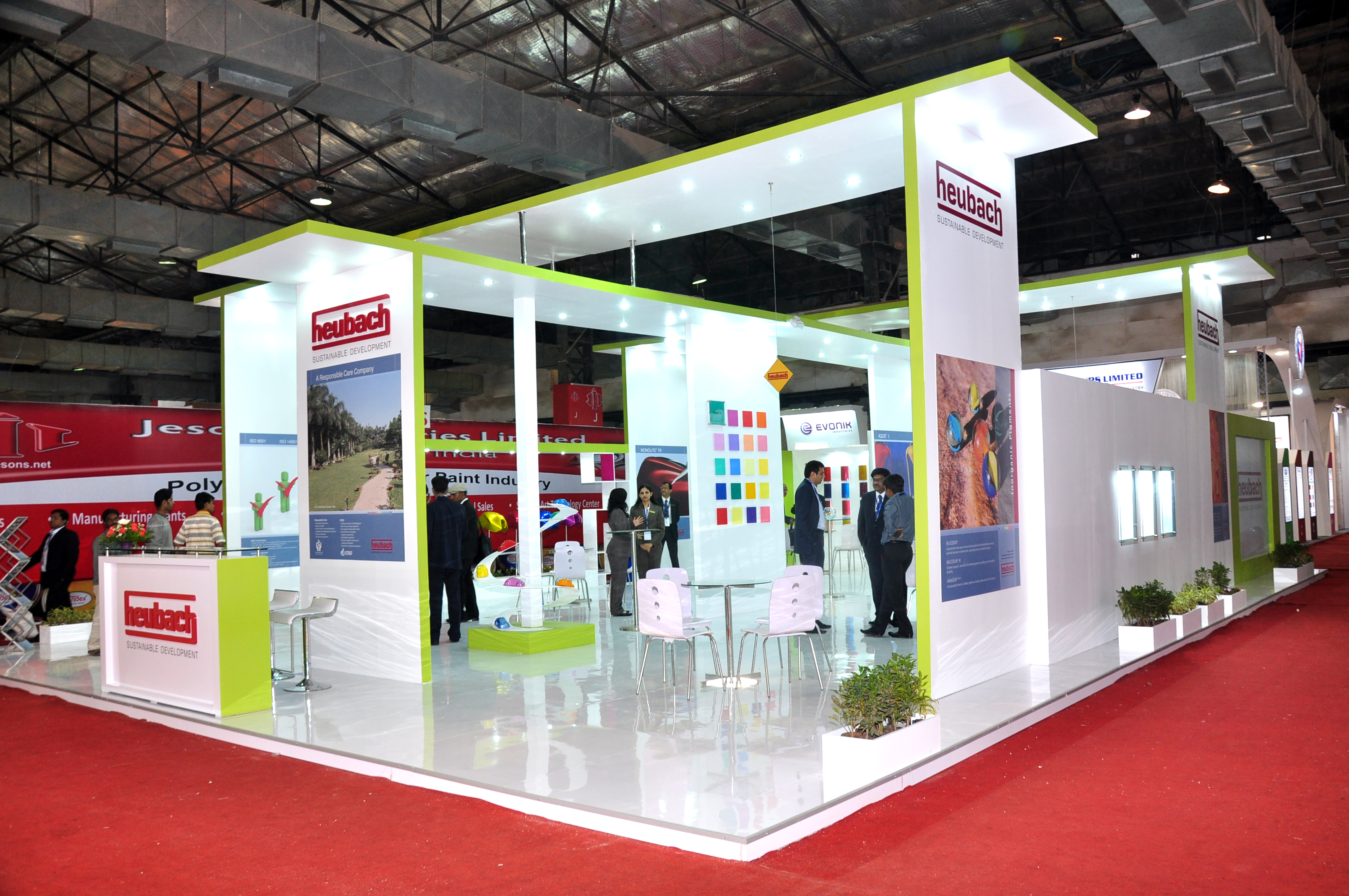Stall Ideas For Exhibition : Promote your brand with creative and convenient exhibition