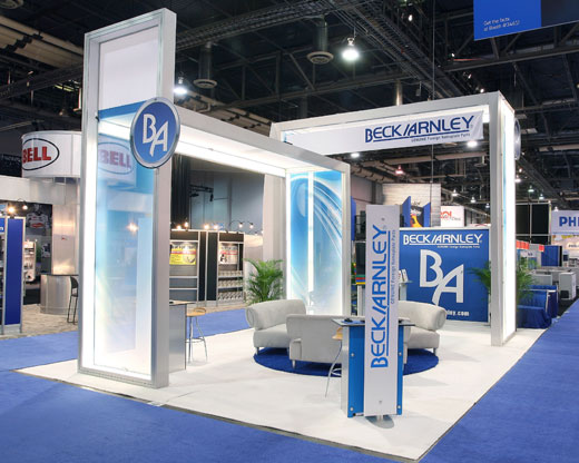 Modular Exhibition Stand Zone : Modular exhibition stands a playful way to redesign