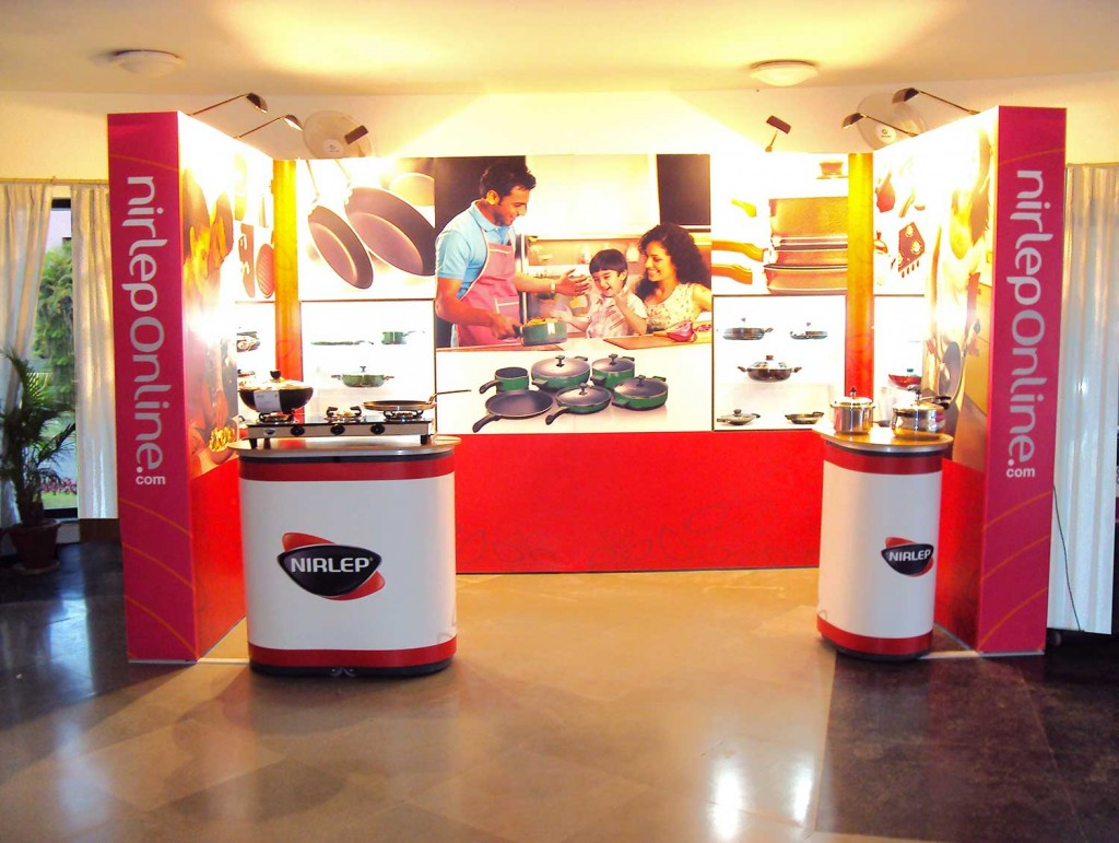Insta Portable Exhibition Kit : India kitchen and cabinetry show bangalore