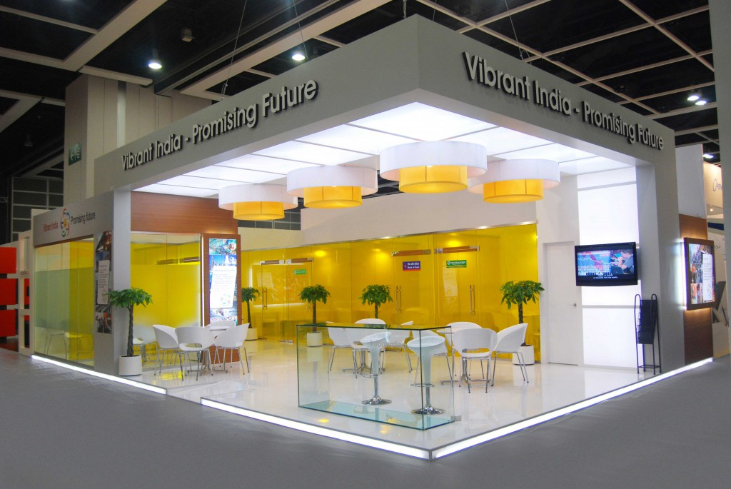 Exhibition Stall Lights : Explore the various exhibition stall decoration ideas