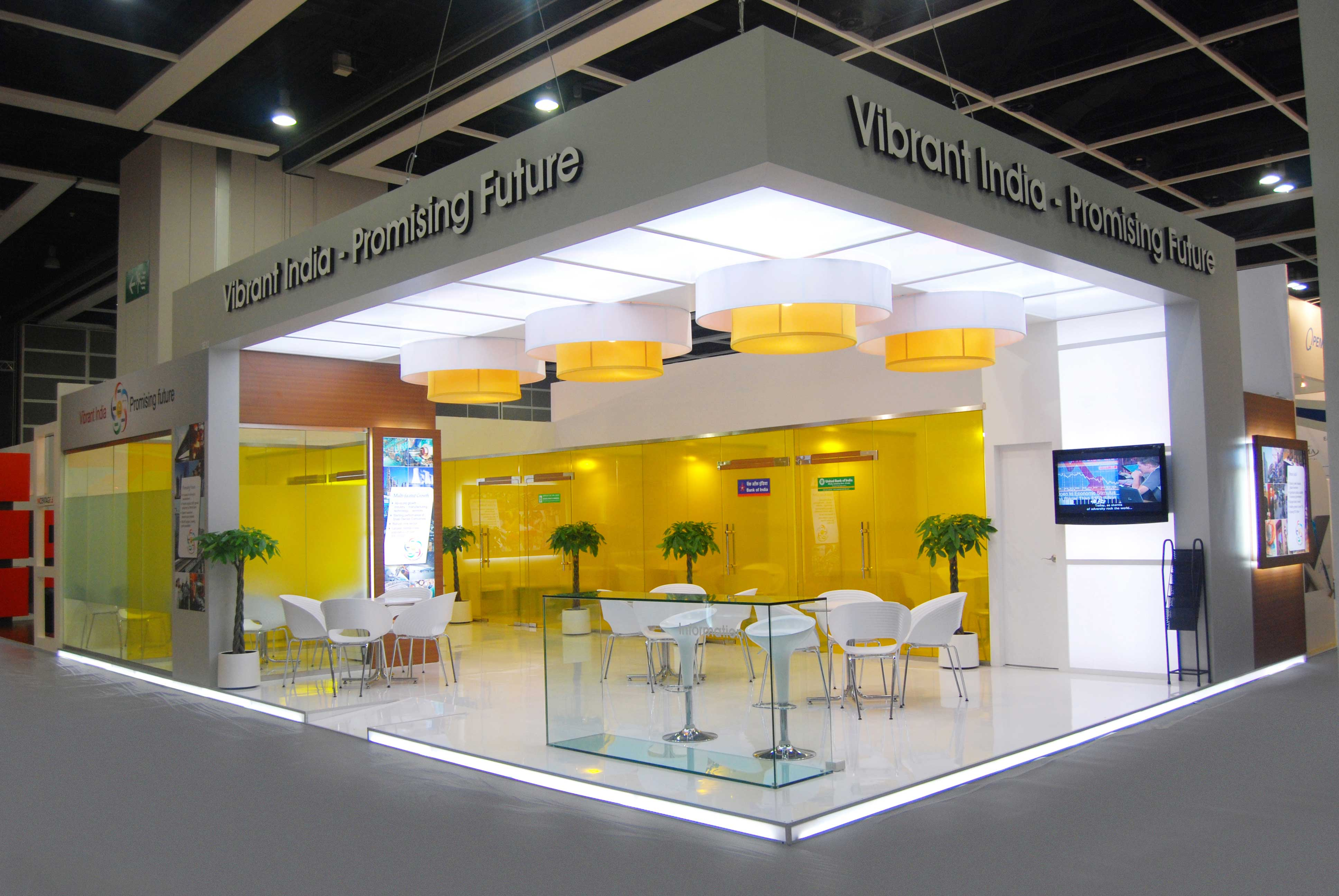 explore the various exhibition stall decoration ideas
