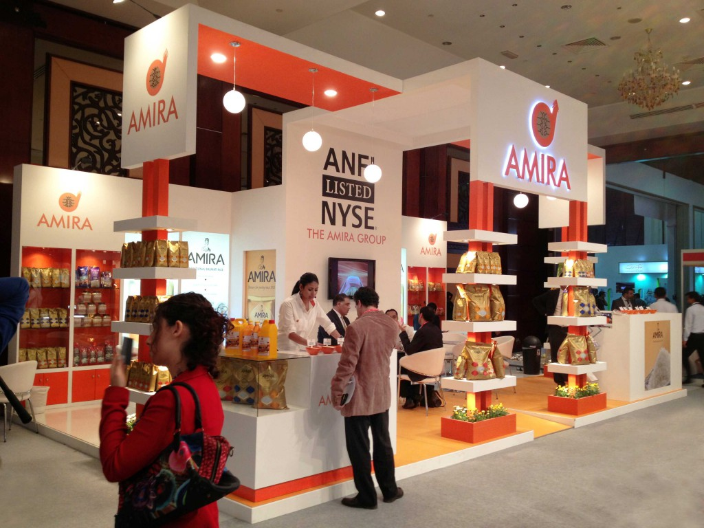 Exhibition Stall For Amira Foods