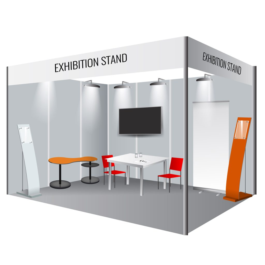 Exhibition Stall Image : Octonorm exhibition stall and stalls manufacturer