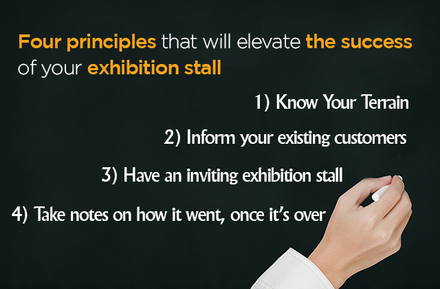 Four principles that will elevate the success of your exhibition stall the reality is that exhibition shows are hardly planned with a through strategy either due to the large sums of money available to spend that makes one stopboris Choice Image
