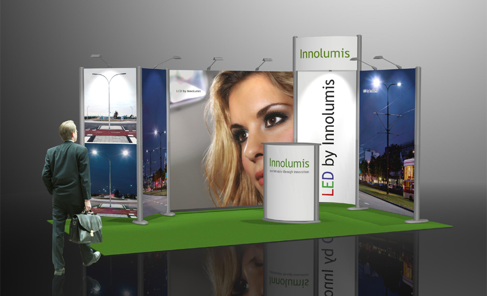 Fabric Exhibition Stand Near Me : Highline cost efficient exhibition display stand backdrop