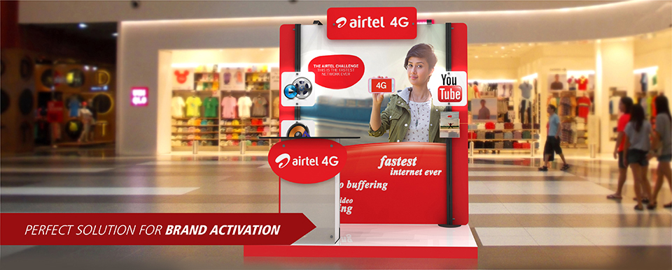 Brand Activation Solutions for Airtel 4G