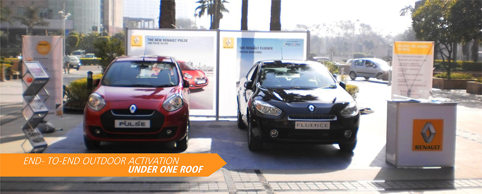 Outdoor Activation for Renault