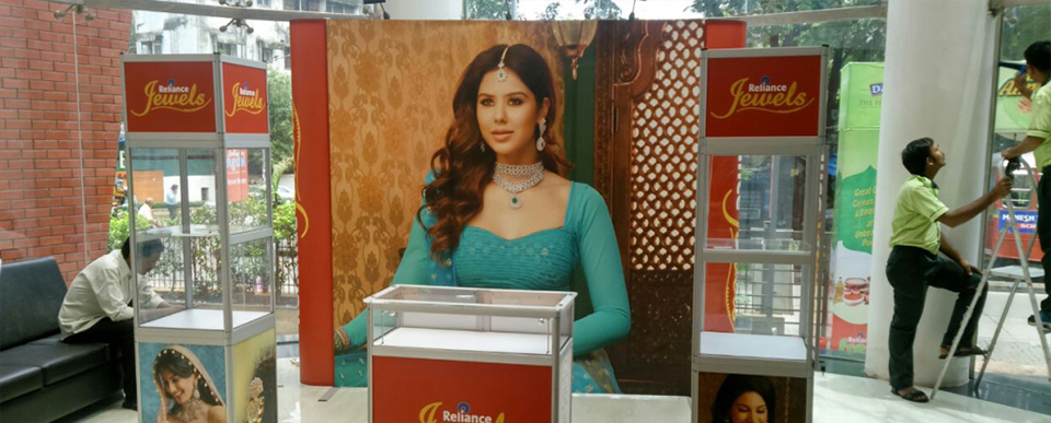 BTL Activities for Reliance Jewels