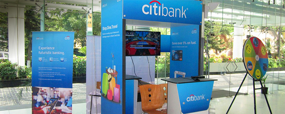 Corporate activation for Citi Bank