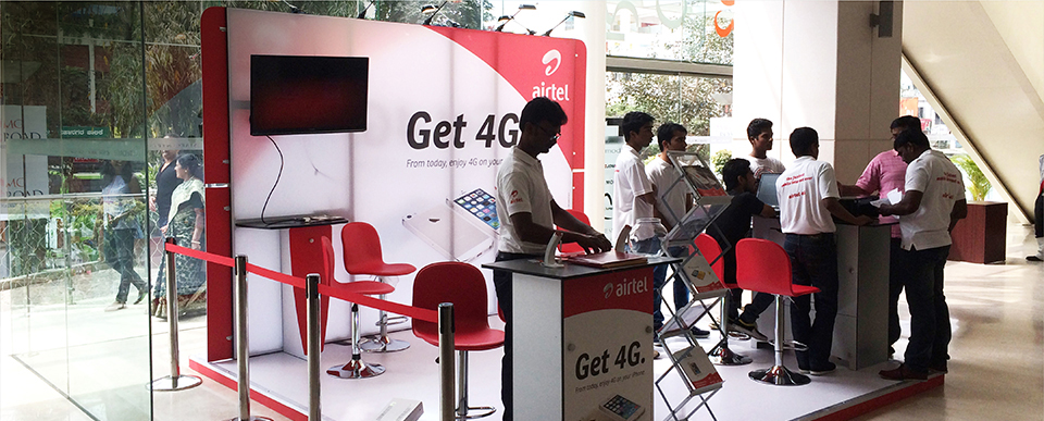 Corporate activation for Airtel