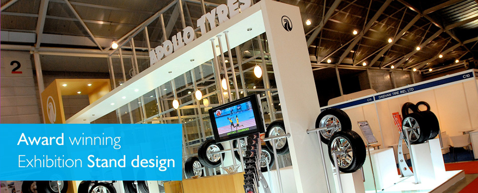 Custom Exhibition Stall design for Apollo