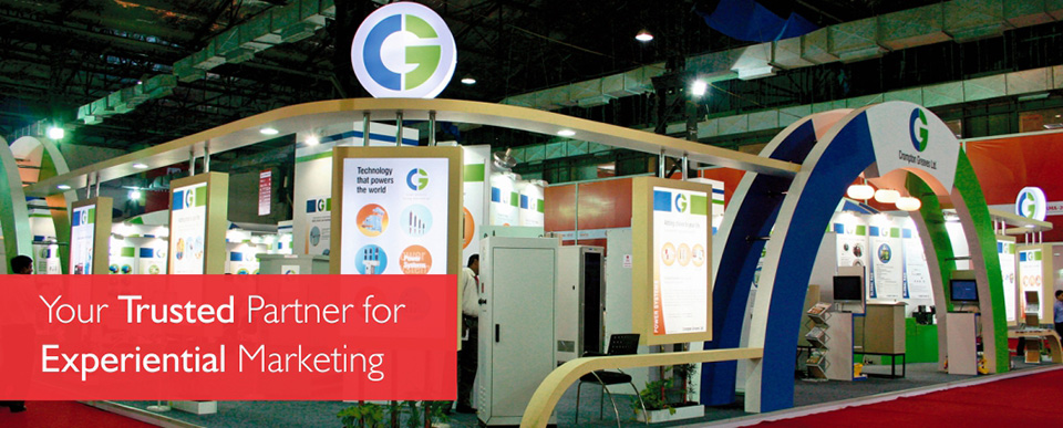 Custom Exhibition Stall design for Crompton Greaves