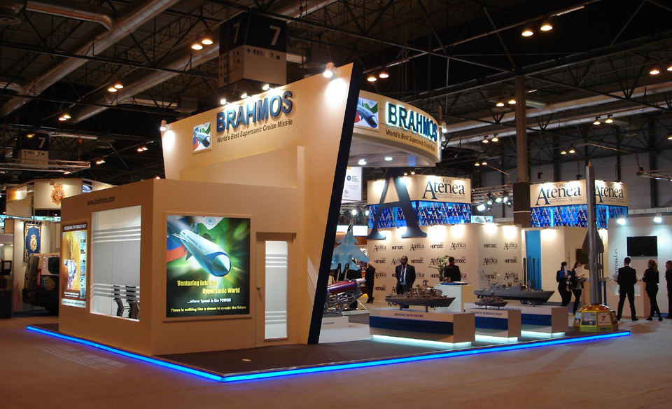 Portable Exhibition Solutions : Exhibition stall designs for defence and aerospace india