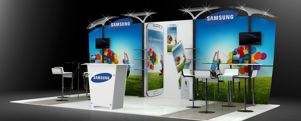 Large Exhibition Stall : Exhibition stall design ideas and inspiration