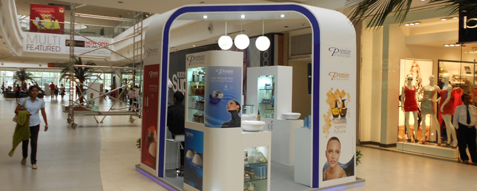 Exhibition Stall Types : Get exhibition solutions for different types of stalls in