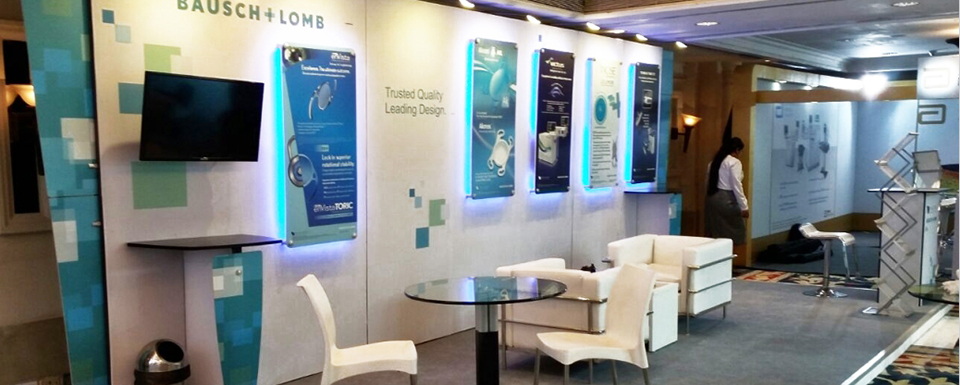 Best Exhibition Stall Designs : Get exhibition solutions for different types of stalls in