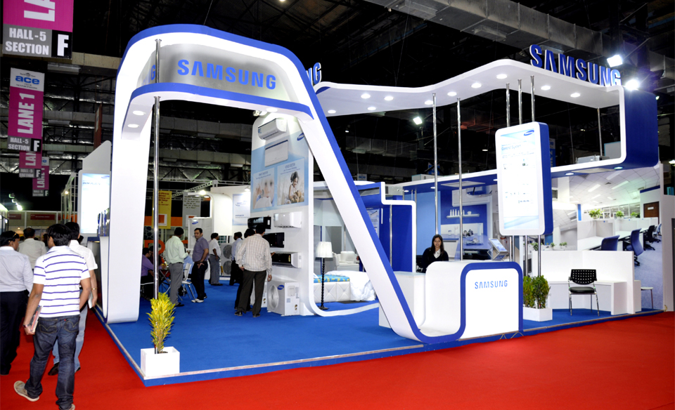 Modular Exhibition Stands Group : Insta exhibitions india exhibition stall designs for