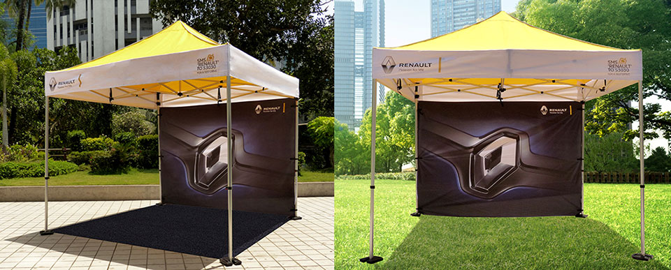 promotional pop up tents