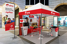 Promotional Portable Tents for Brand Activation