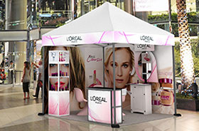pop up tents for brand activation