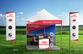 Promotional Portable Tents for Dealer Activation