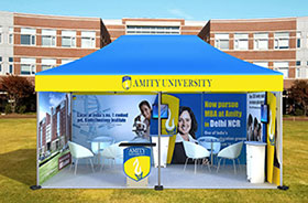 Promotional Portable Tents for Events Job Mela
