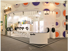 Exhibition Stand design and build for Apollo