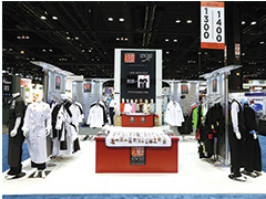 Exhibition Stand design for New Chef by Insta