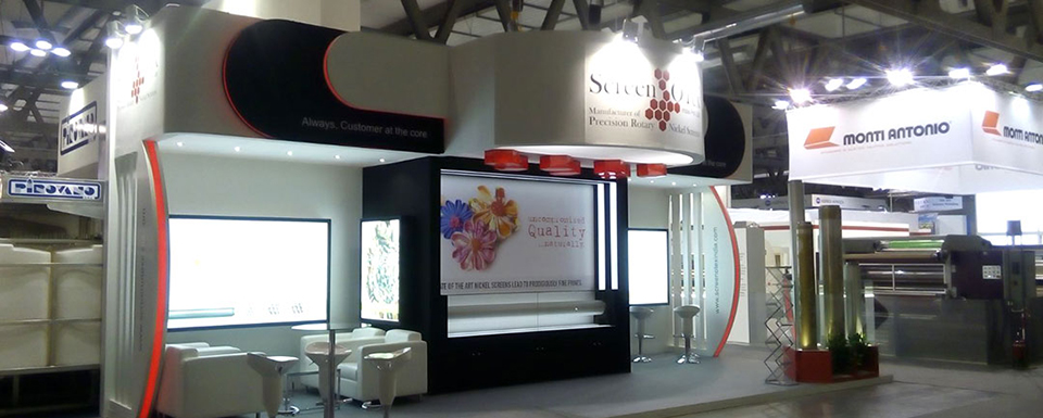 Exhibition Stall Background : Custom and modular exhibition stalls stands for itma